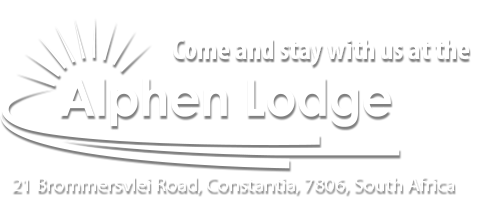 Come and sty with us at the Alphen Lodge